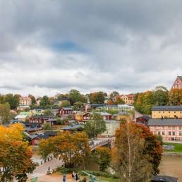 centro storico Porvoo